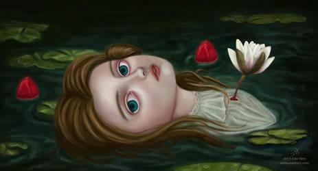 Lily Pond by EdaHerz