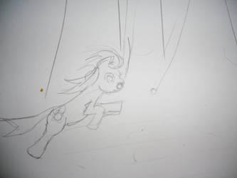 Acrobat Pony by thedancingpikachu