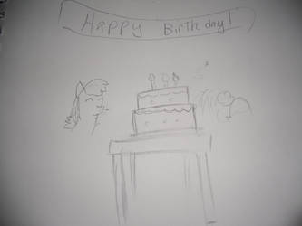 Happy birthday to whoever by thedancingpikachu