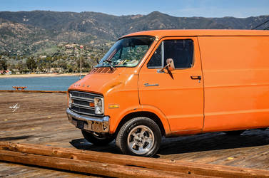 Orange Tradesman by NIDJI-photographisme