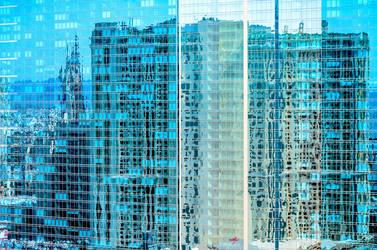 Blue reflection by NIDJI-photographisme