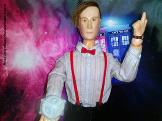 The Eleventh Doctor - BJD (Time Lord Mail) by AnastasiyaKosenko