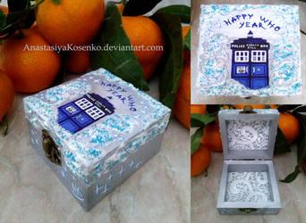Doctor Who - Happy Who Year! by AnastasiyaKosenko