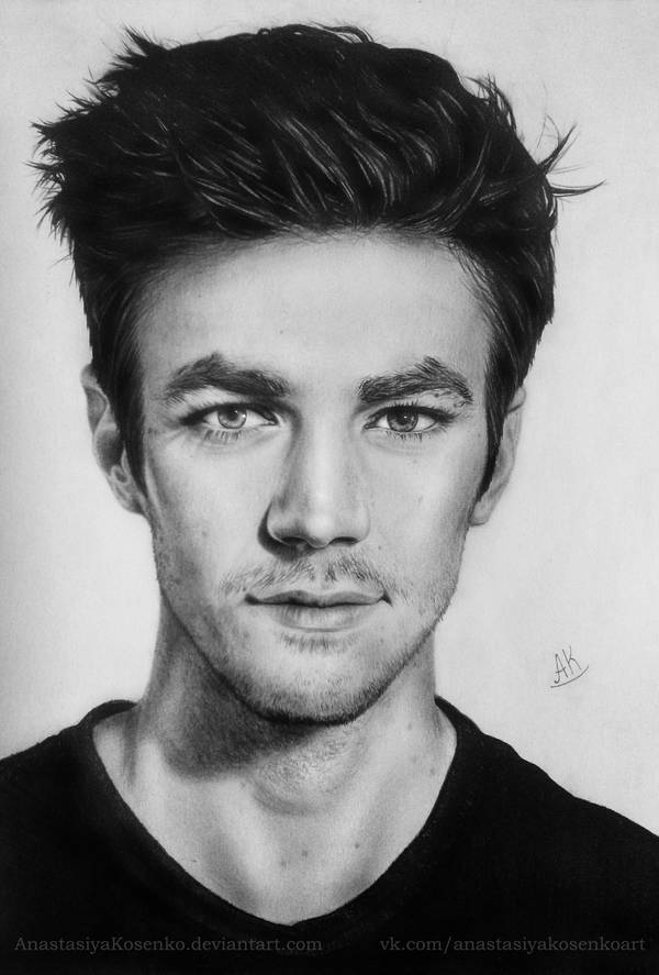 The Flash - Grant Gustin by AnastasiyaKosenko