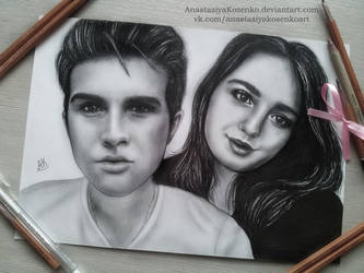 Commission - Young pair by AnastasiyaKosenko