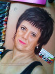 Commission - Woman with short hair by AnastasiyaKosenko