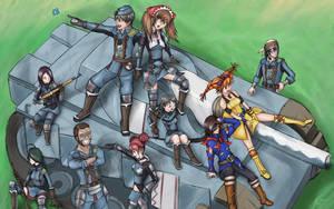 Valkyria Crew by hybridmink