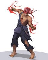 Evil Ryu by hybridmink