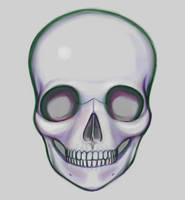 anime skull by hybridmink