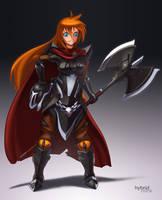 Sarissa Ironheart by hybridmink