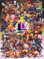 Smash Brothers by hybridmink