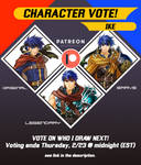 Patreon CHARACTER VOTE: Ike by hybridmink