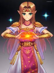 Zelda (Ultimate) by hybridmink