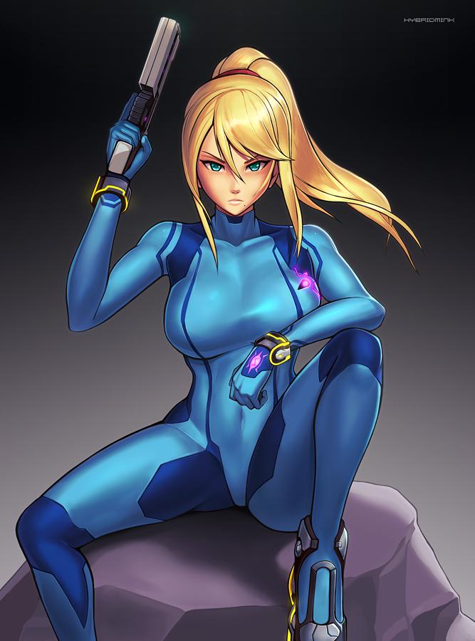 Zero Suit Samus (Ultimate) by hybridmink