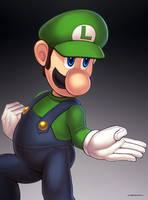 Luigi (Ultimate) by hybridmink