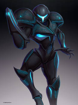 Dark Samus (Ultimate) by hybridmink