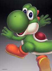 Yoshi (Ultimate) by hybridmink