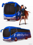 Hit By Bus by hybridmink