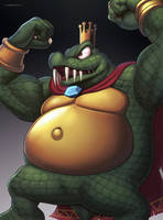 King K. Rool (Ultimate) by hybridmink