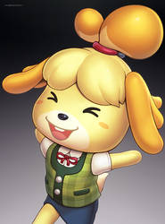 Isabelle (Ultimate) by hybridmink