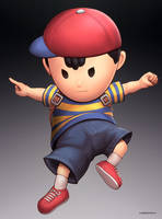 Ness (Ultimate) by hybridmink