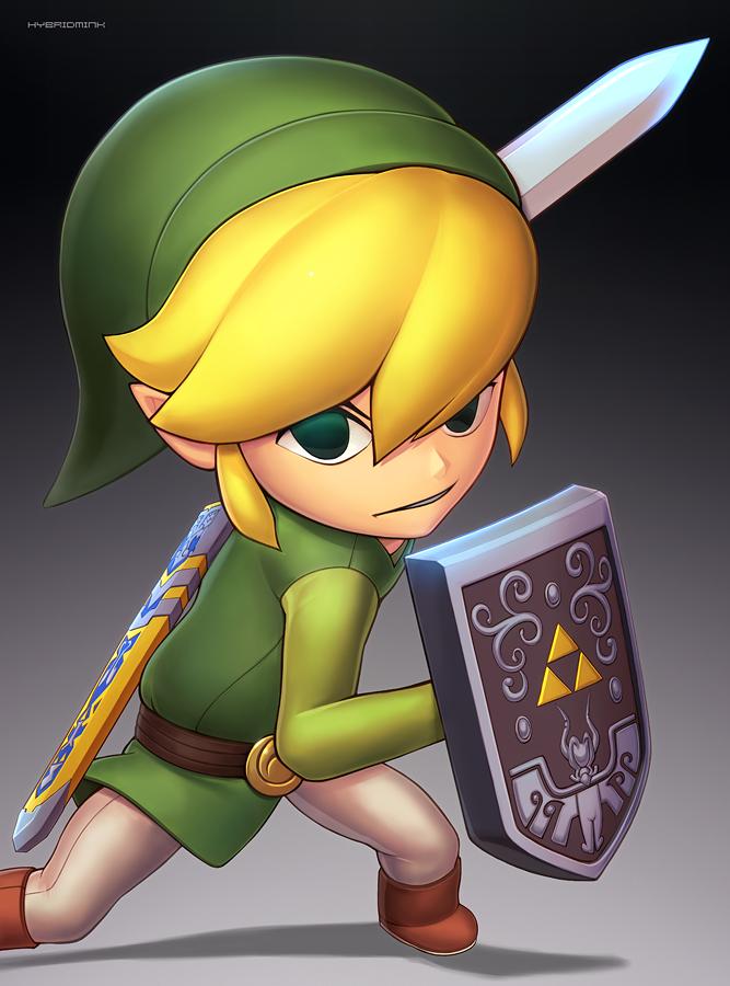 Toon Link (Ultimate) by hybridmink