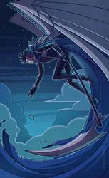 Macross Delta - Grim Reaper by Spartaphyx