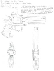 M30 Service Revolver by Phoenixangel924