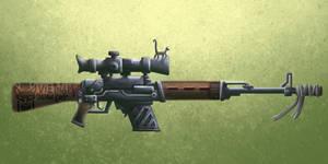 sniper cat by jujorere