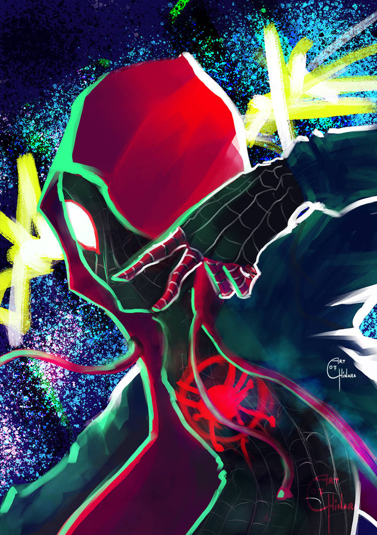 Into the Spiderverse: The Spiderman by chinara
