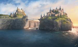 Castle by KrasnyNieJasny