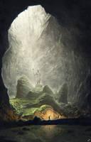 Ancient cave by KrasnyNieJasny