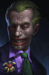 Joker sketch by KrasnyNieJasny