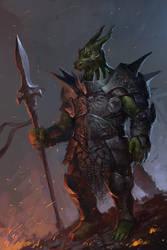 Dragon Knight by KrasnyNieJasny