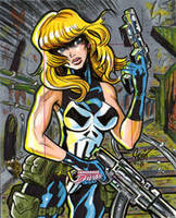 Lady Punisher by Sonion