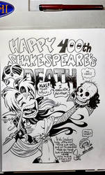 Happy 400th, Shakespeare's Death! by Sonion
