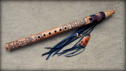 Native American Flute 50(1) by whiteright