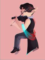 Violin by Cocoabats