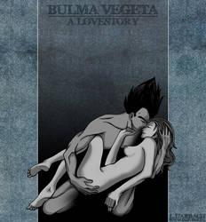 Bulma and Vegeta by OmiTsukiyono