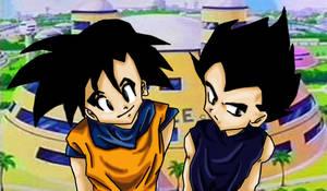 Vegi Goku by OmiTsukiyono