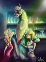 Lemo The Ladies Man-Llama thing by Haizeel