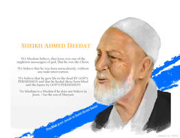 Sheikh Ahmed Deedat by Haizeel