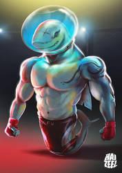 Shark MMA Fighter by Haizeel