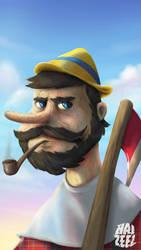 Pinnochio the Lumberjacker by Haizeel