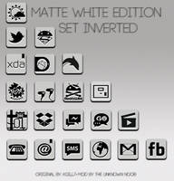 Matte White Edition Set Inverted by kgill77