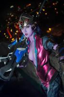 overwatch - widowmaker cosplay by Julia-MiFei