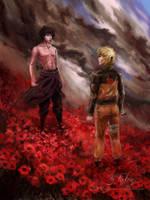 Naruto - Because we're friends by Futago-KawaiI
