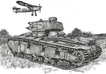 Training Day Panzerkampfagen Pz.NbFz VI by shank117