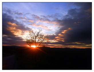 November Sunset 2 by Aamarka
