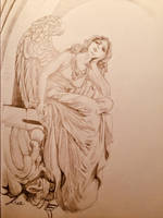 Ritratto Statua Angelo by gfgraFix